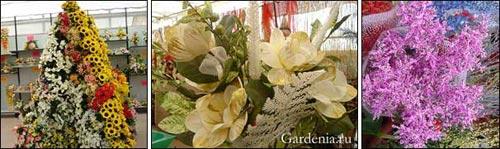 Рождественские цветочные украшения для дома